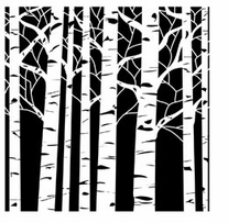 Crafter's Workshop Templates Aspen Trees