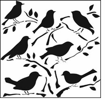 Crafter's Workshop Templates Birds
