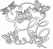 Crafter's Workshop Templates Butterfly Ballet