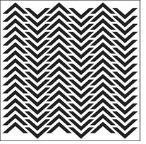 Crafter's Workshop Templates Chevron