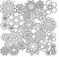 Crafter's Workshop Templates Flowers