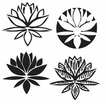 Crafter's Workshop Templates Lotus Blossom