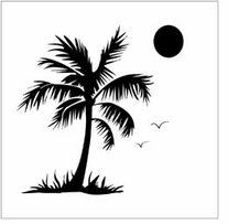 Crafter's Workshop Templates Palm Tree