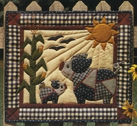 Crazy Pigs Quilt Kit - Click to enlarge