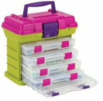 Creative Options Grab'n Go 4-By Rack System Green Magenta