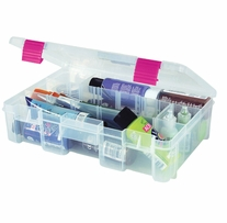 Creative Options Pro Latch Deep Utility Box Clear, Magenta