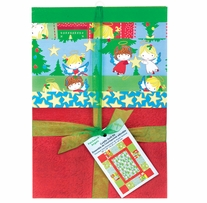 Cuddly Quilt Kits Christmas Angel Wings