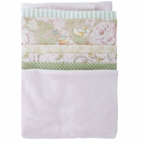 Cuddly Quilt Kits Girl Soft Assorted