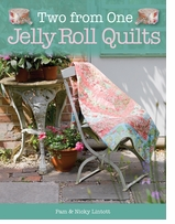David and Charles Books Two From One Jelly Roll Quilts