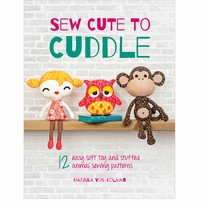 David & Charles Books Sew Cute To Cuddle