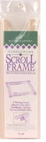 Deluxe Hardwood Scroll Frame 4inX8in