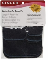Denim Iron-On Repair Kit Assorted Sizes