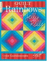 Design Originals Quilt Rainbows With Jelly Rolls