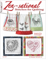 Design Originals Zen-Sational Stitches For Quilting