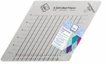 Diamond Cut Slotted Ruler