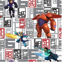 Disney Big Hero 6 Character Toss