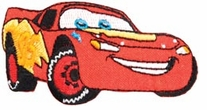 Disney Cars Lightning Mcqueen Iron-On Appliques