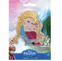 Disney Frozen Iron-On Applique Sisters