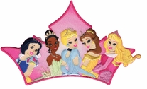 Disney Iron-On Appliques Princess Group