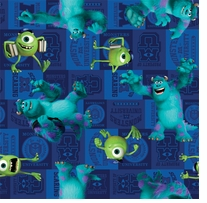 Disney Monsters Mike And Sully Toss