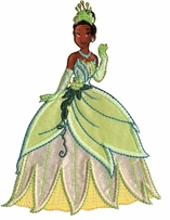 Disney Princess Iron-On Appliques Tiana
