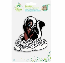 Disney's Bambi Flower Skunk Iron On Applique