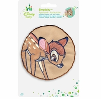 Disney's Bambi In Circle Iron-On Applique
