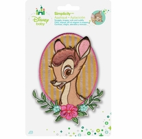 Disney's Bambi Portrait Iron-On Applique