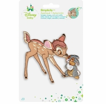 Disney's Bambi & Thumper Iron-On Applique