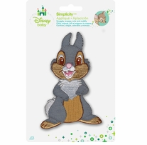 Disney's Bambie, Thumper Iron On Applique