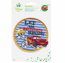 Disney's Cars Iron On Applique