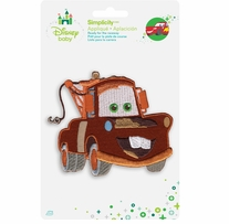 Disney's Cars Mater Iron On Applique