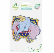 Disney's Dumbo and Timothy Mouse Iron On Applique