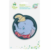 Disney's Dumbo Circle Iron On Applique