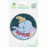 Disney's Dumbo Circle Portrait Iron On Applique