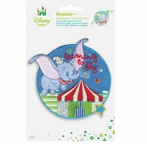 Disney's Dumbo Flying Circus Iron On Applique