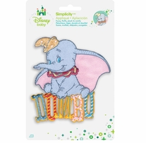 Disney's Dumbo Iron On Applique