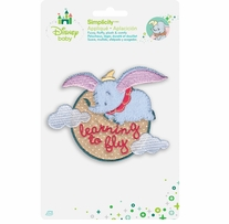 Disney's Dumbo Learning to Fly Iron On Applique