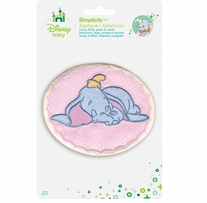 Disney's Dumbo Sleeping Dumbo Iron On Applique