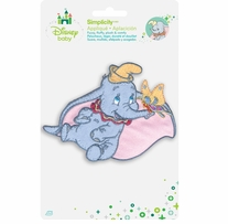 Disney's Dumbo with Butterfly Iron On Applique