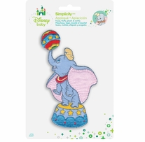 Disney's Dumbo with Circus Ball Iron On Applique