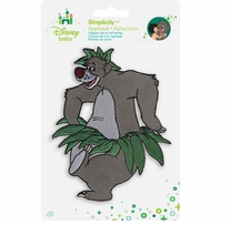 Disney's Jungle Book Dancing Baloo Iron On Applique