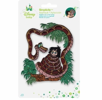 Disney's Jungle Book Kaa and Mowgli Iron On Applique