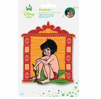 Disney's Jungle Book Mowgli Iron On Applique