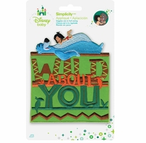 Disney's Jungle Book Wild About You Iron On Applique
