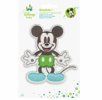 Disney's Mickey Mouse Iron On Applique