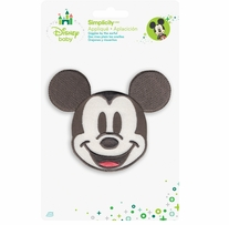 Disney's Mickey Mouse Portrait Iron On Applique