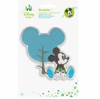 Disney's Mickey Mouse With Tree Iron On Applique