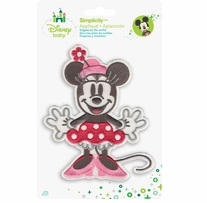 Disney's Minnie Mouse Iron On Applique
