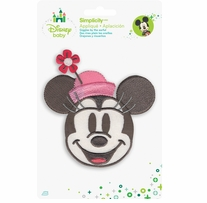 Disney's Minnie Mouse Portrait Iron On Applique